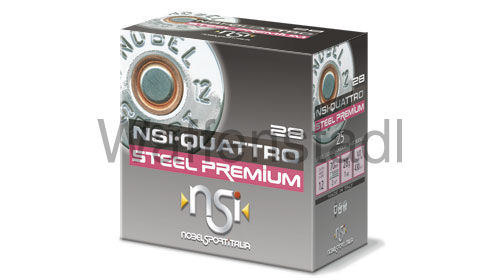 NSI Nobel Sport Italia QUATTRO STEEL PREMIUM 28 HP Photodegradable Wad