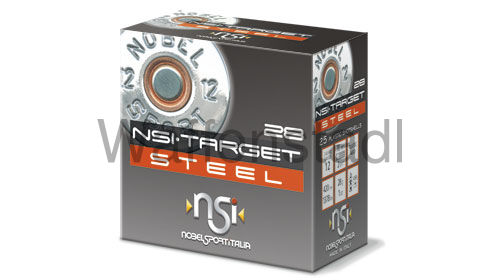 Nobel Sport Italia (NSI) NSI·TARGET STEEL 28 HP Nr. 7 Photodegradable Wad