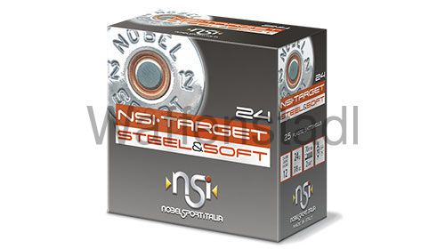 Nobel Sport Italia (NSI) NSI·TARGET STEEL & SOFT 24 Photodegradable Wad
