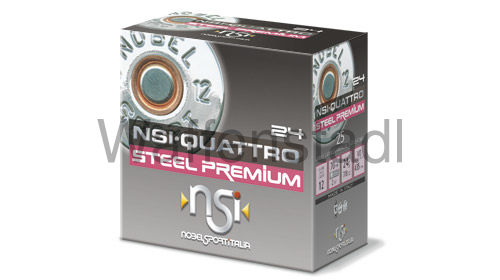 Nobel Sport Italia (NSI) NSI·QUATTRO STEEL PREMIUM 24 HP Photodegradable Wad