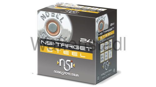 Nobel Sport Italia (NSI) TARGET STEEL HP 24 C20 Trap Nr. 7 Photodegradable