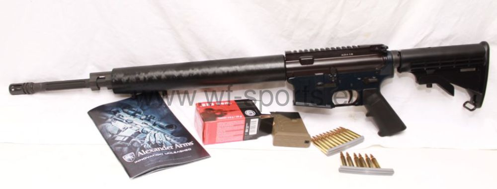 "Alexander Arms 20"" in .223rem www.wf-sports.eu"