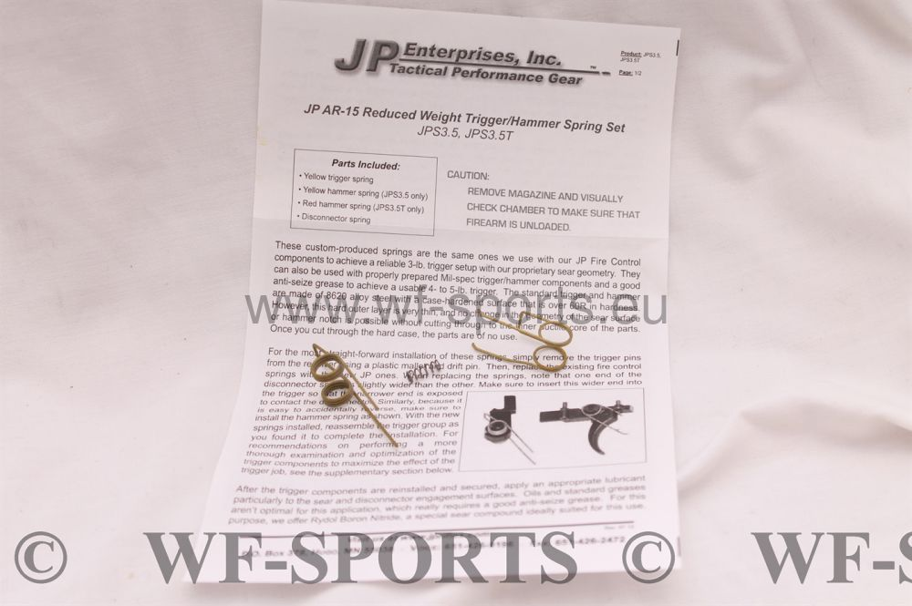 WF-SPORTS JP ENTERPRISES ,Trigger KIT ,AR15,OA15,X400 usw NEU // WF-SPORTS //