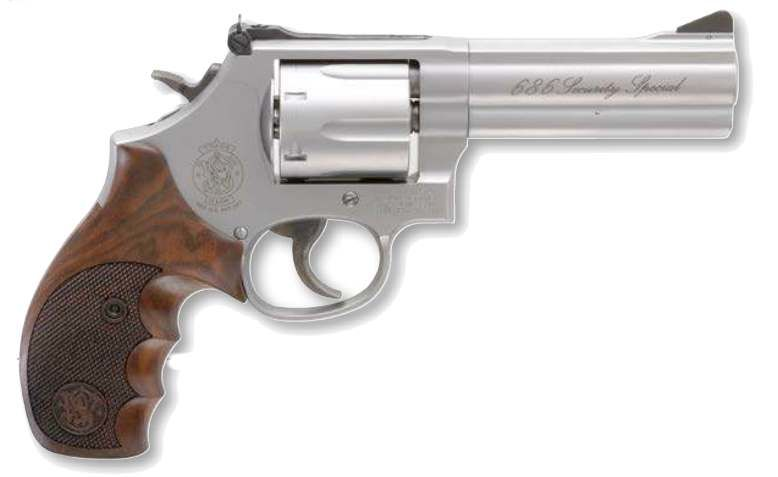 "Smith & Wesson S&W 686 Security Special 4"" Revolver .357 Mag."