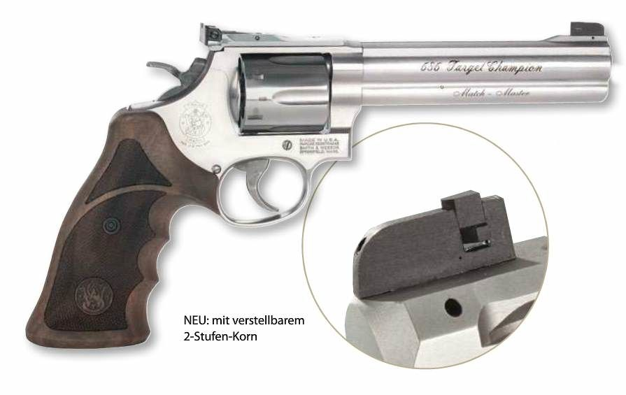 Smith & Wesson 686 Target Champion Match Master .357 Mag
