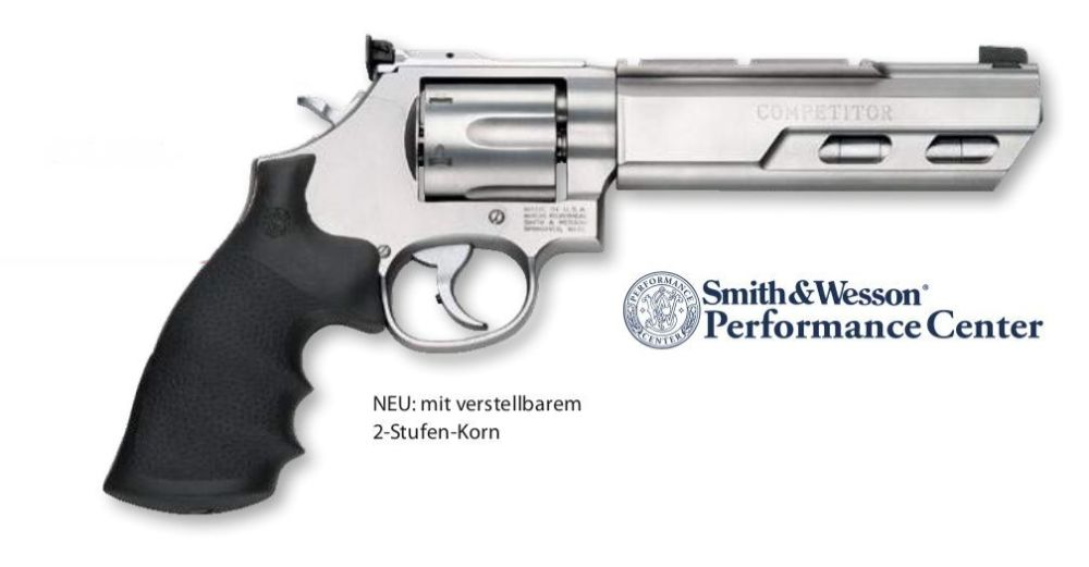 "Smith & Wesson 629 Competitor Performance Center Revolver 6"" .44 Magnum"