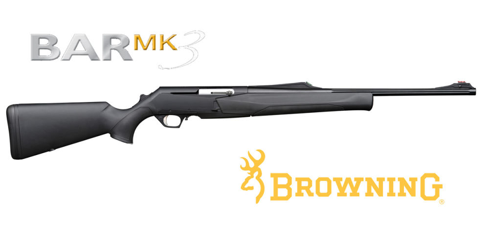 Browning BAR MK3 COMPOSITE FLUTED HC