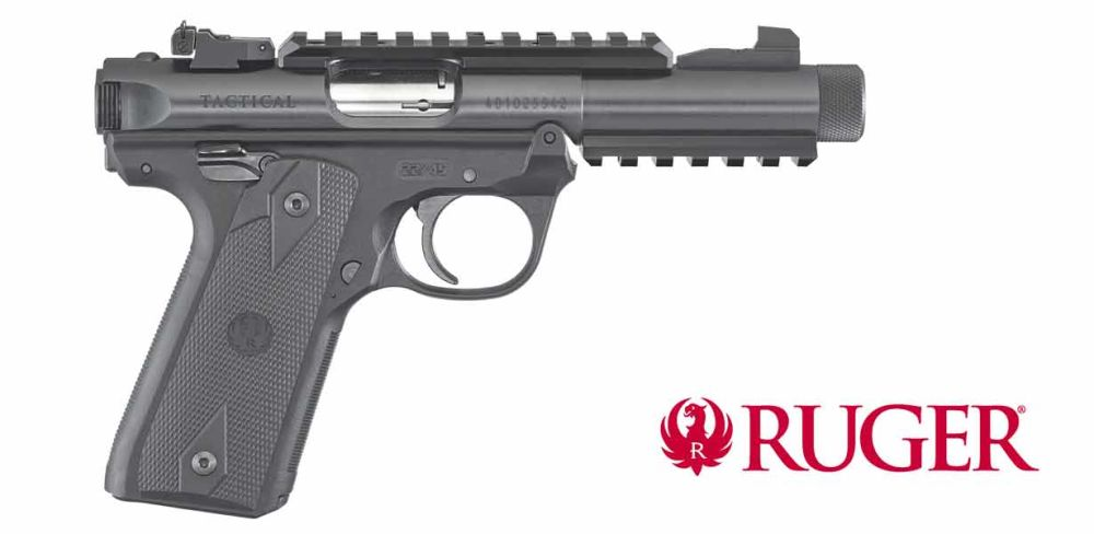 Ruger Mark IV 22/45 Tactical .22lfb