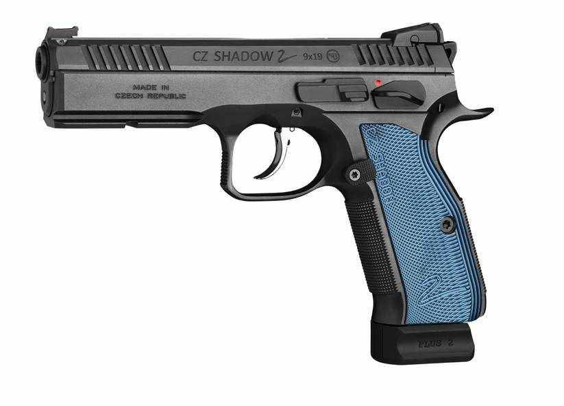 Brünner CZ CZ 75 SP-01 Shadow II 9 mm Blau
