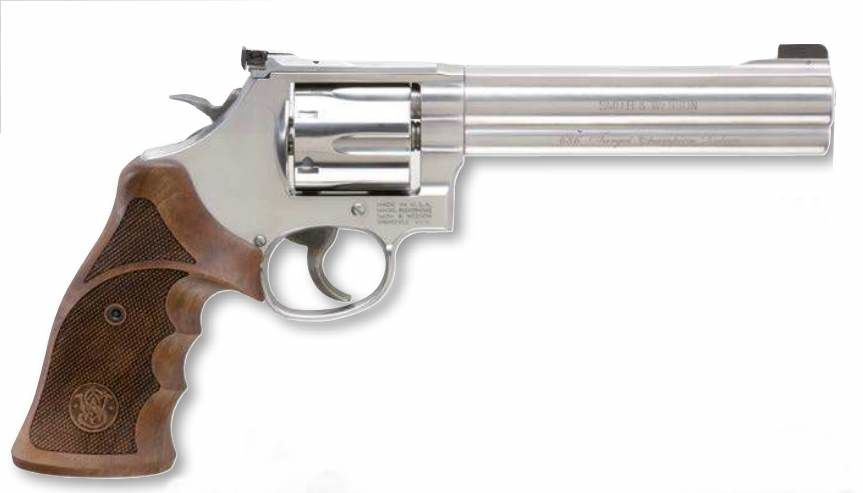 Smith & Wesson 686 Target Champion Revolver glänzend .357 Mag