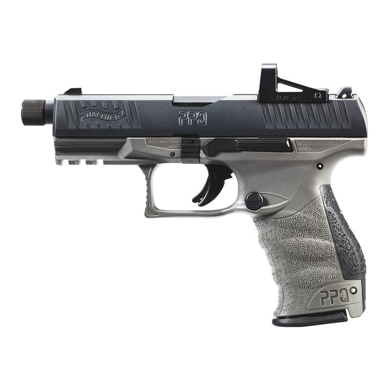 Walther PPQ Q4 TAC Combo 9mm Luger