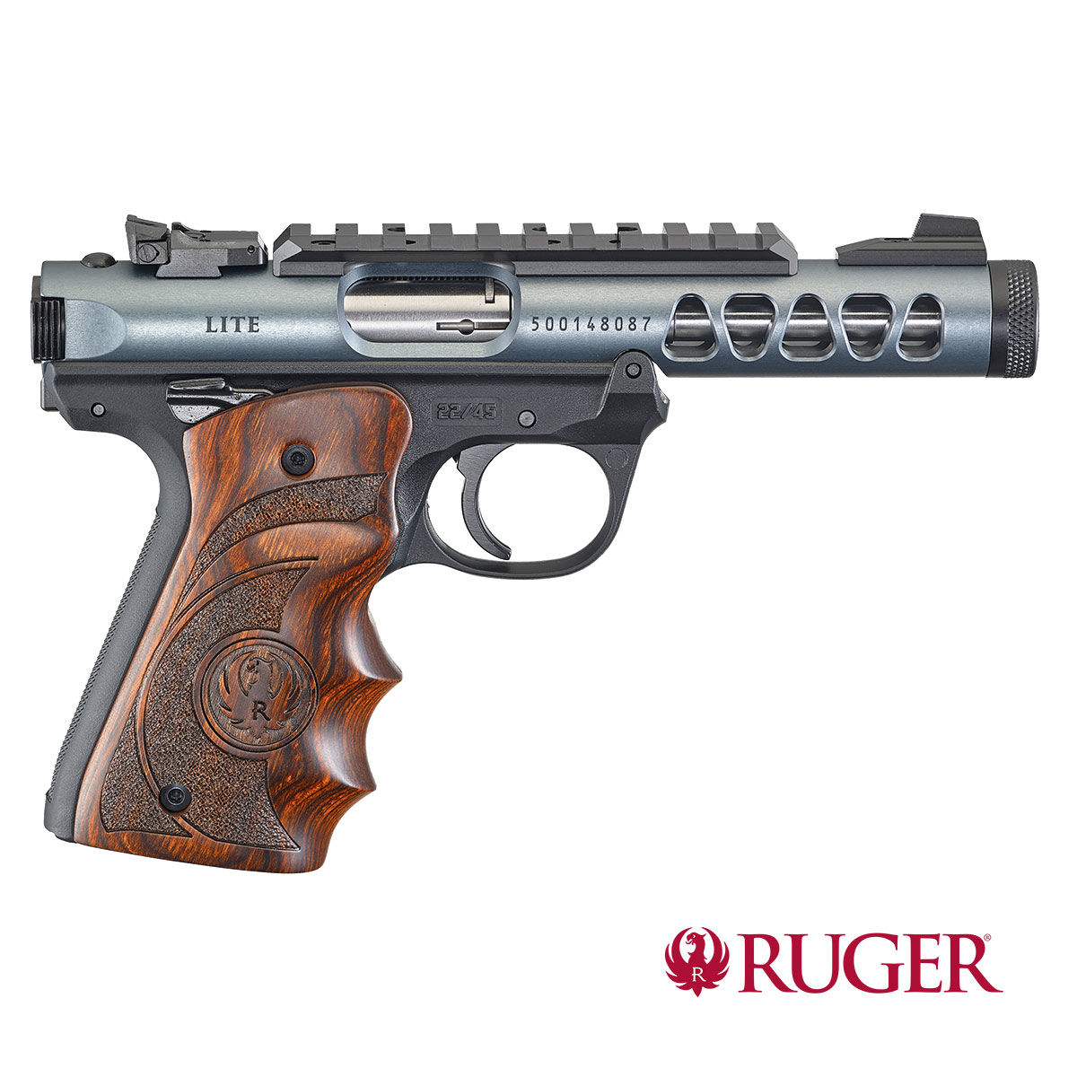 Ruger Mark IV 22/45 Lite Diamond Gray 4,4""