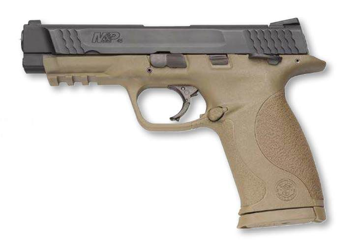 "Smith & Wesson Pistole S&W M&P45 mit 4 1/2"" Lauf .45 ACP"