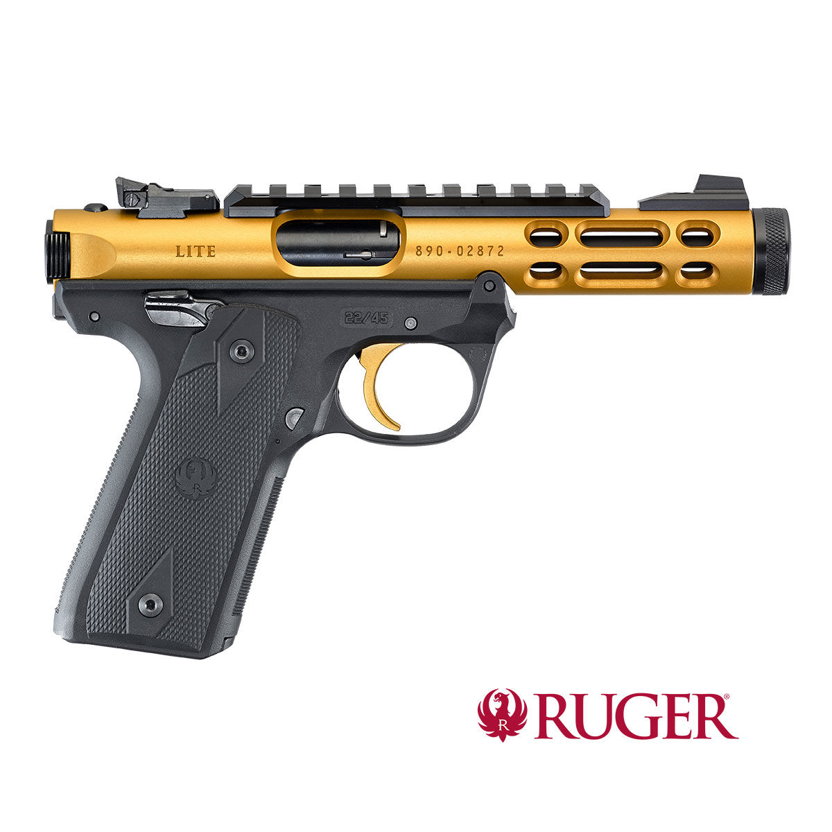 "Ruger Mark IV/22/45 Lite Gold 4,4"" .22lr"