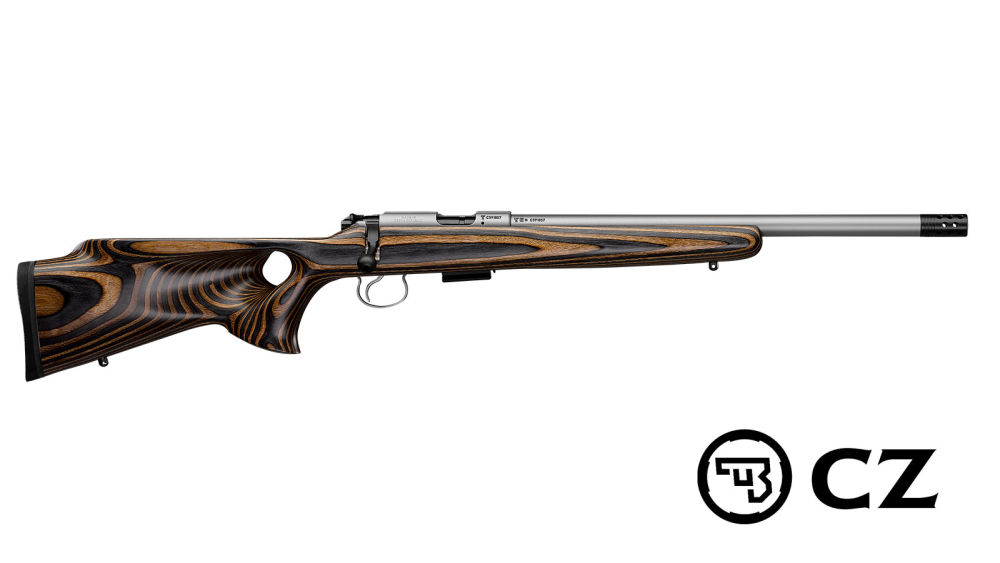 Brünner CZ 455 Thumbhole Stainless .22 L.R.
