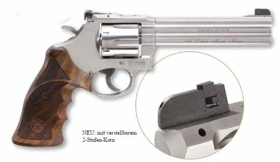 Smith & Wesson 686 Deluxe Match Master Stainless .357 Mag