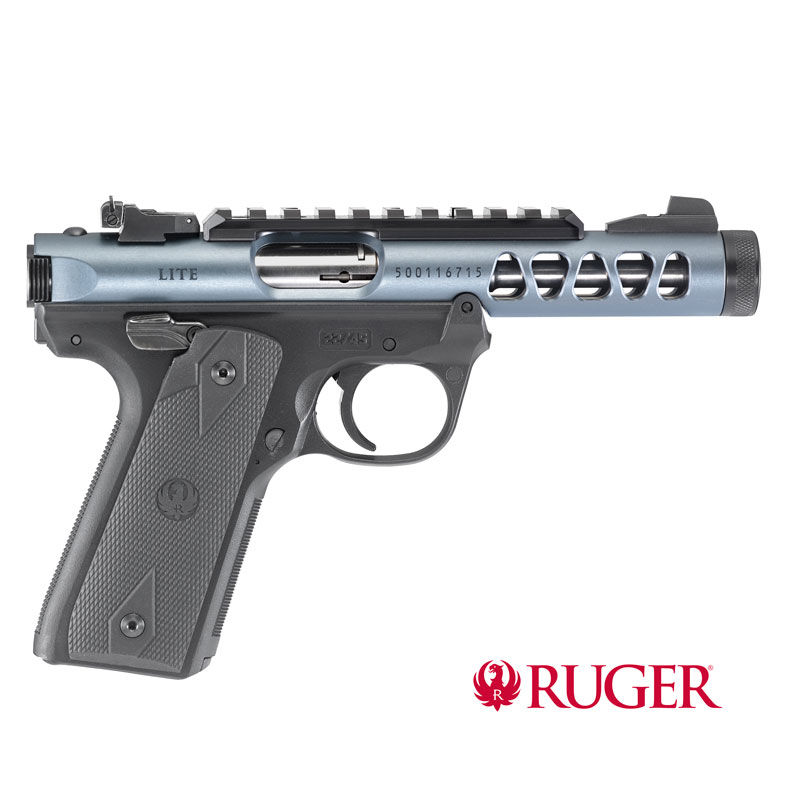 Ruger Mark IV 22/45 Lite Diamond Grey .22lfb