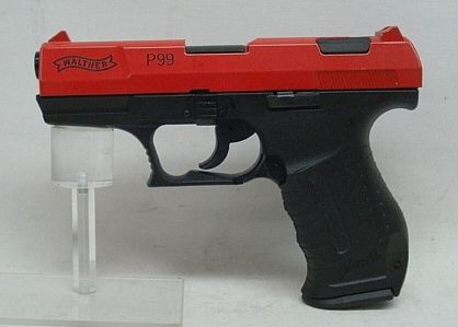 Walther P99 Kal.9mmP.A.K. rot, Sonder Edition
