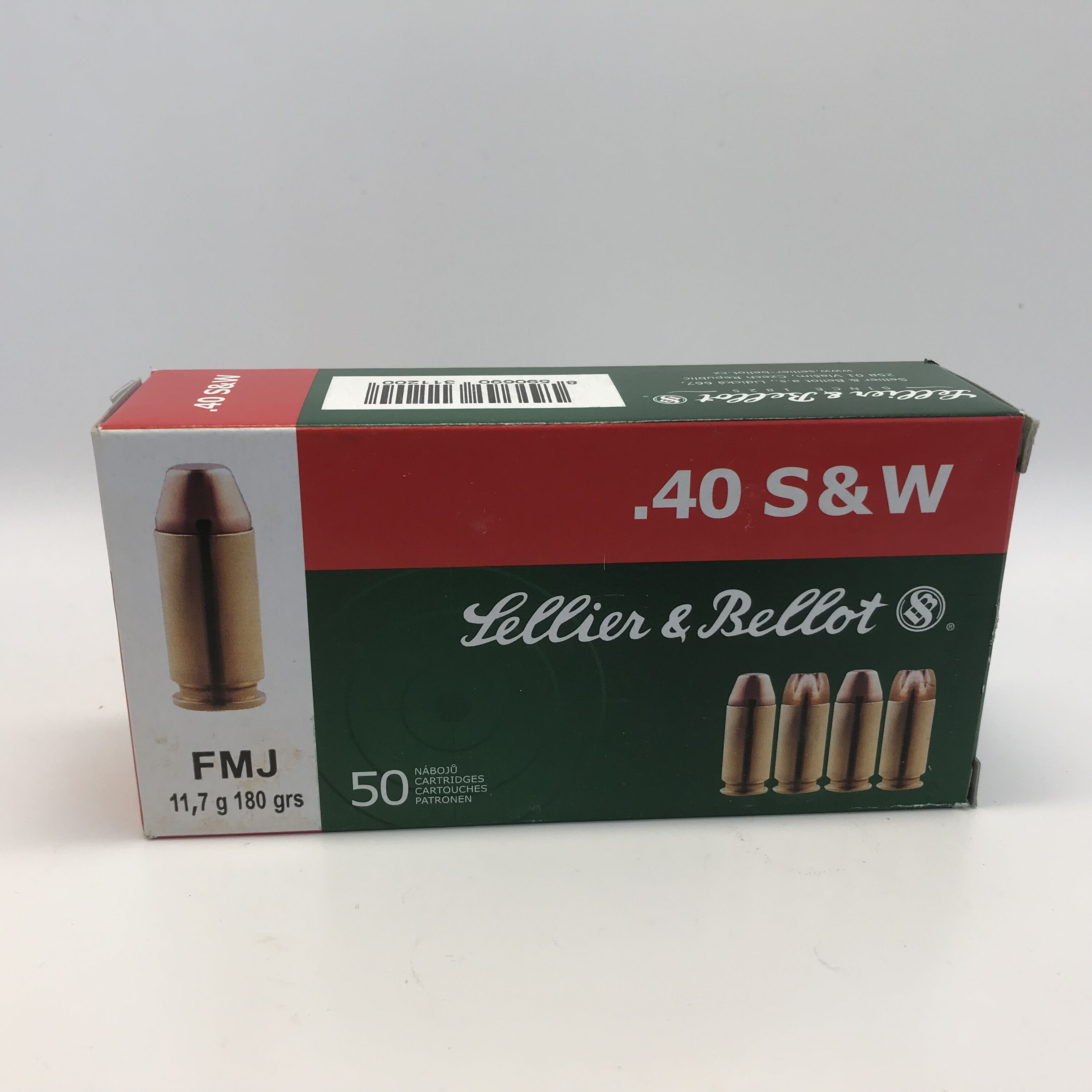 Sellier & Bellot, S&B .40 S&W FMJ