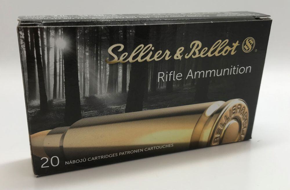 Sellier & Bellot, S&B .223 rem 55gr SP