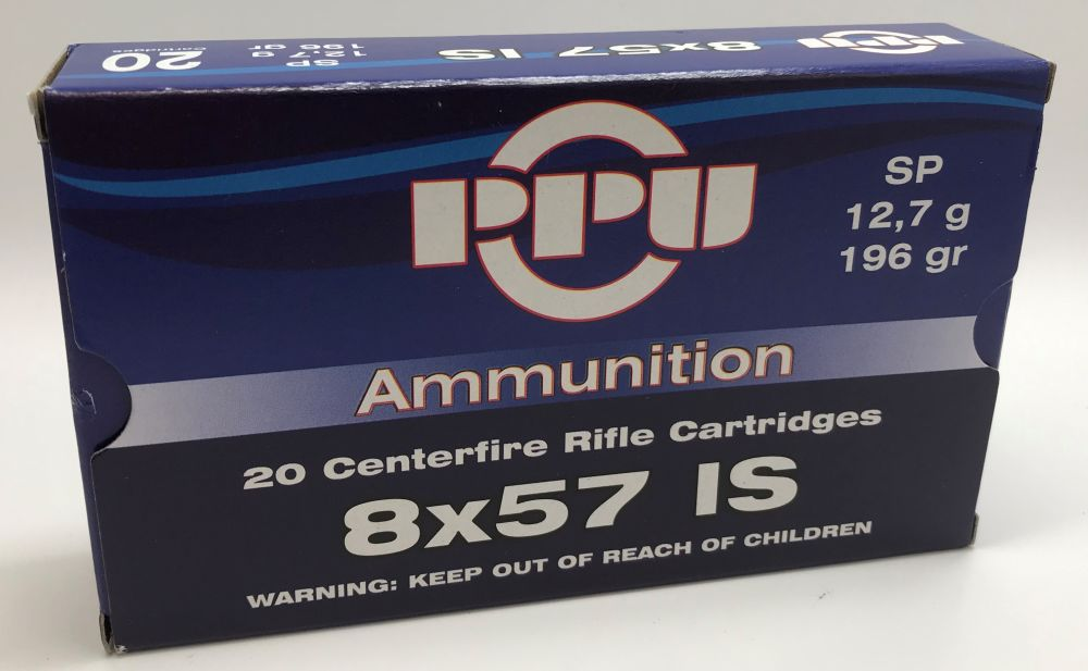 PPU PPU 8x57 IS 196gr TM