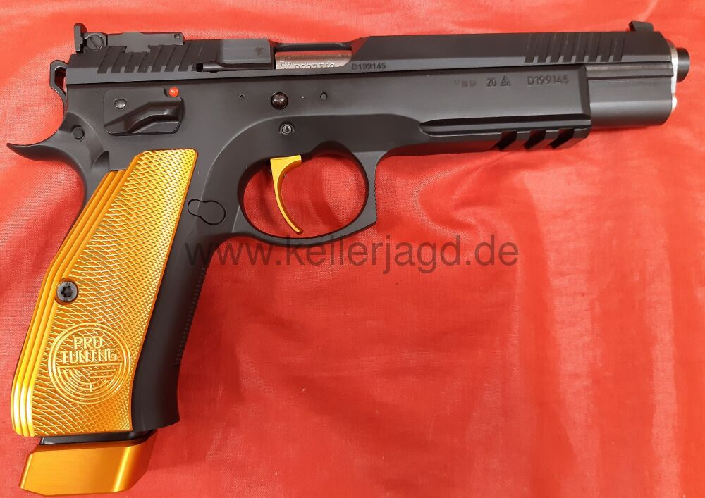 CZ75 Taipan Orange Sportpistole 9mm Luger