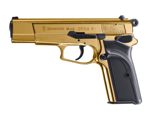 Browning GPDA 9 gold finish