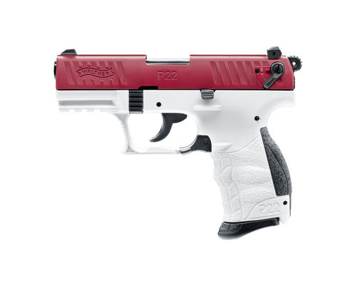 Walther P22Q Team Edition red/white