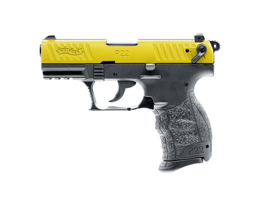 Walther P22Q Team Edition yellow/black