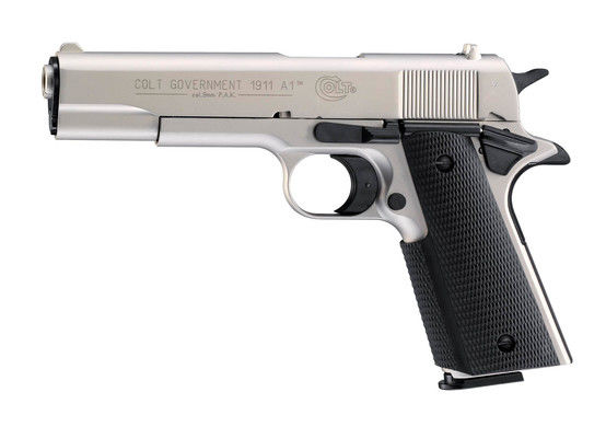 Colt Government 1911 A1 nickel