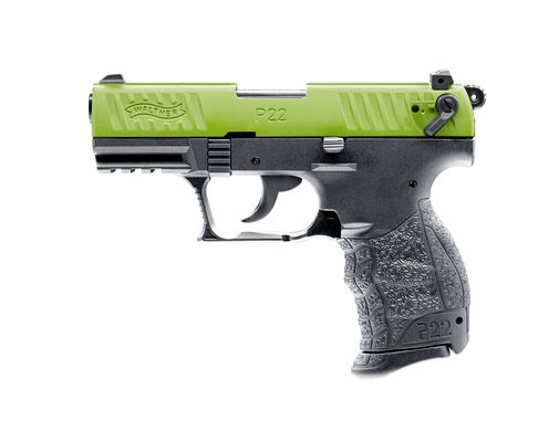 Walther P22Q Team Edition green/black