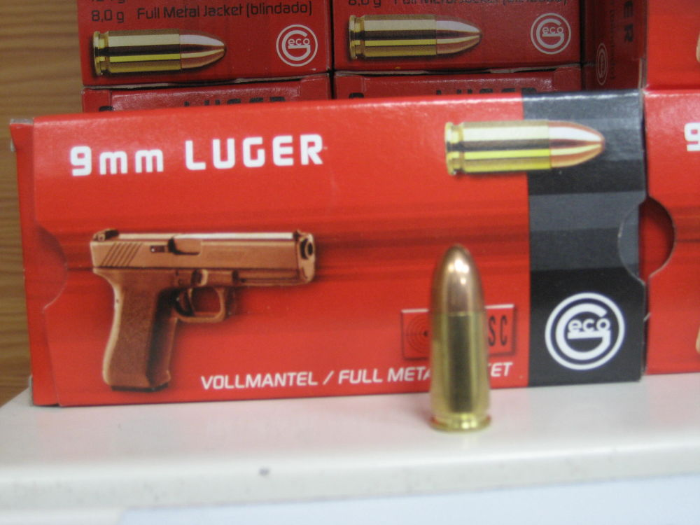 Gego 9mm Luger Vollmantel