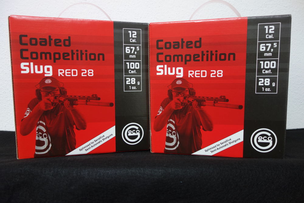 Geco Coated Competition Slug Red 12/67,5 28g EAN 4000294102479