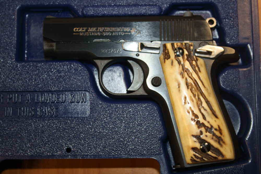 Colt MK IV Series 80 Mustang Plus II Texas Ranger Edition Texas Ranger Edition