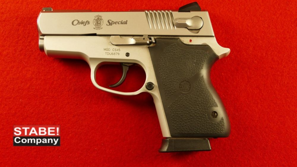 Smith & Wesson Chief´s Special CS 45