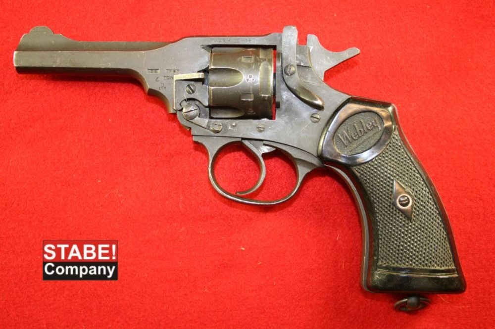 Webley & Scott Mark IV. 38 S&W