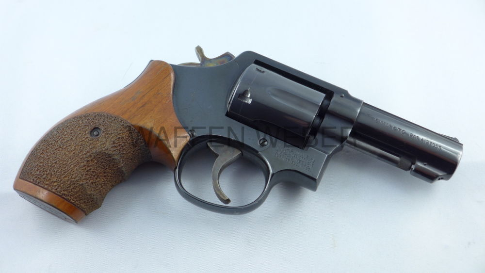 SMITH & WESSON 547 - einzigster S&W Revolver in 9 mm Para /9 mm Luger / 9x19