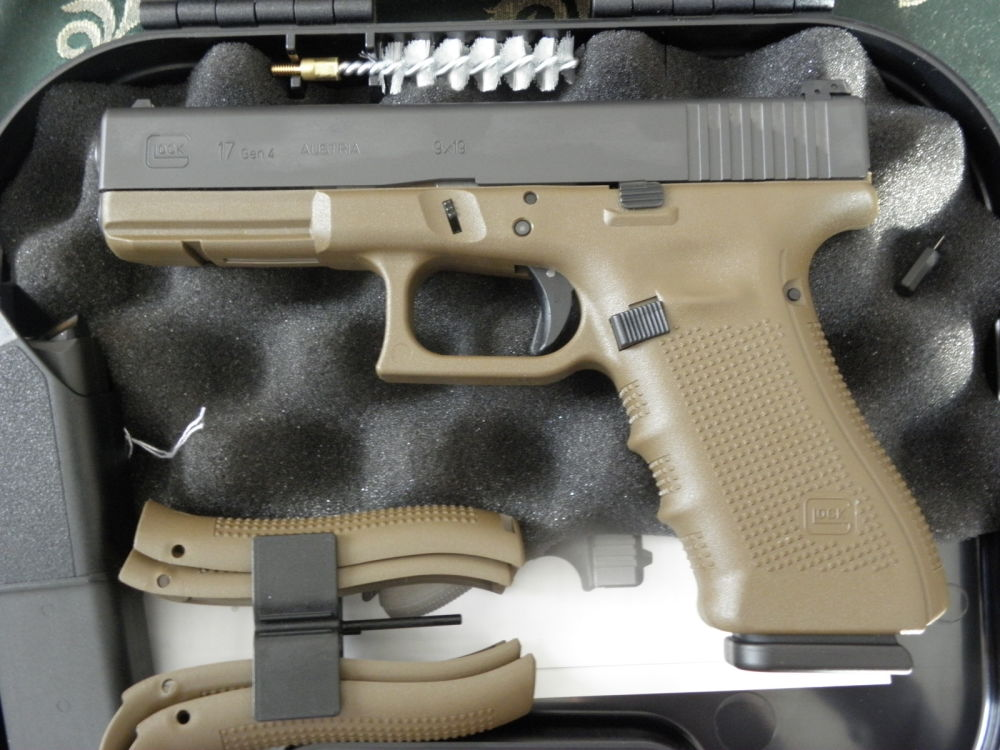 Glock 17 Gen. 4, Dark Earth