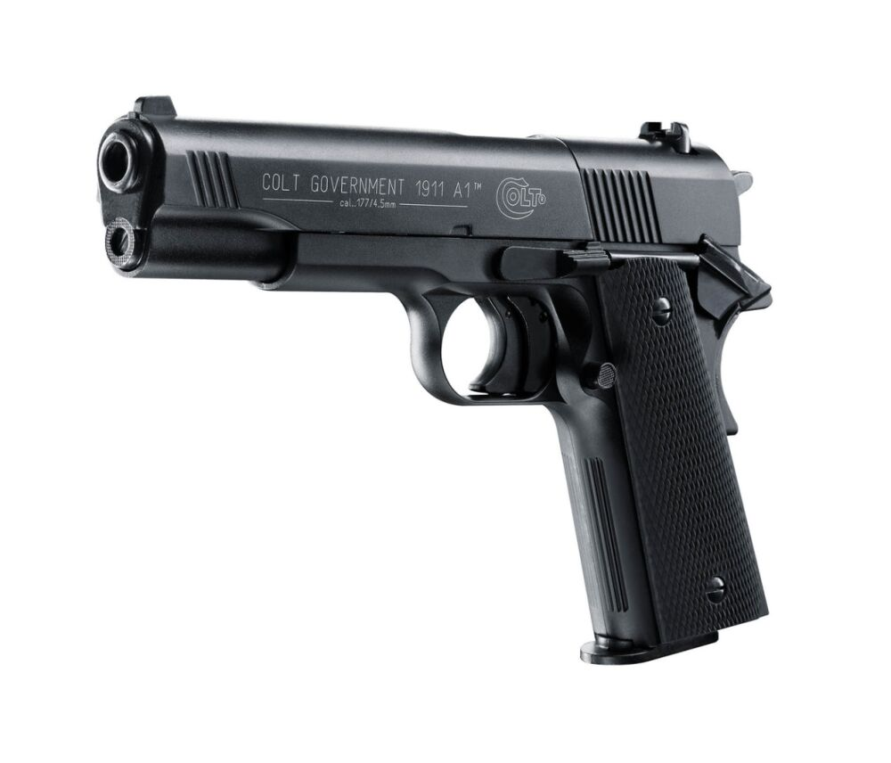 Umarex Colt Government 1911 A1, 4,5mm Diabolo, schwarz