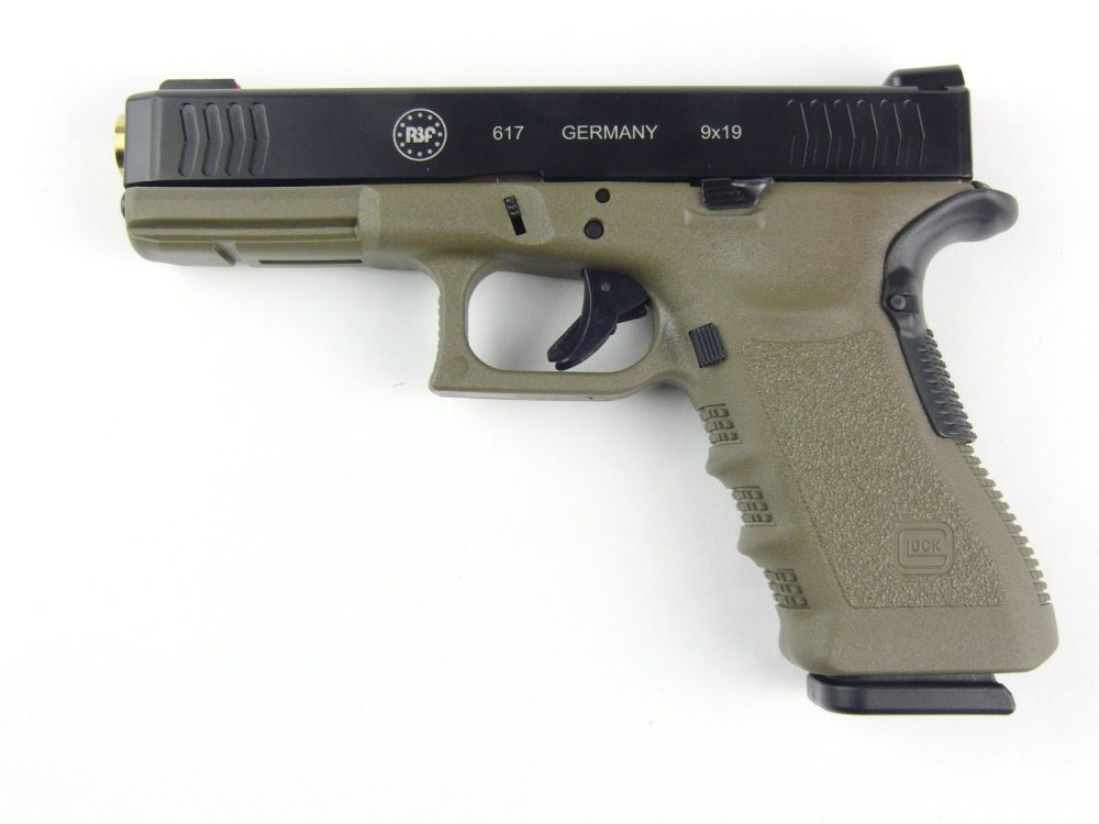 "RBF International Sportpistole Glock Mod.617 ""Police Officer"", 4,49´´, 9mmPara"