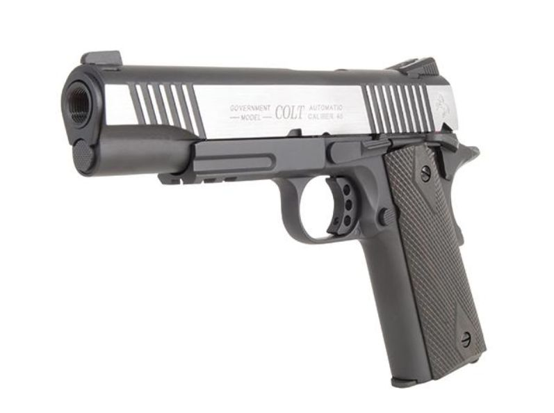 GSG Colt 1911 Railgun Bicolor 6mm Softair