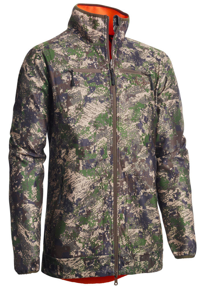Chevalier Pixel Camo Reversible WB Coat