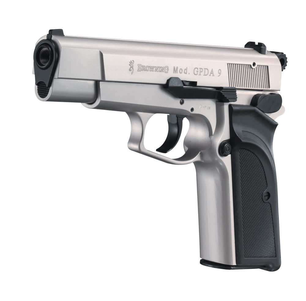 Umarex Browning GPDA 9 cal. 9 mm P.A.K. - Nickel
