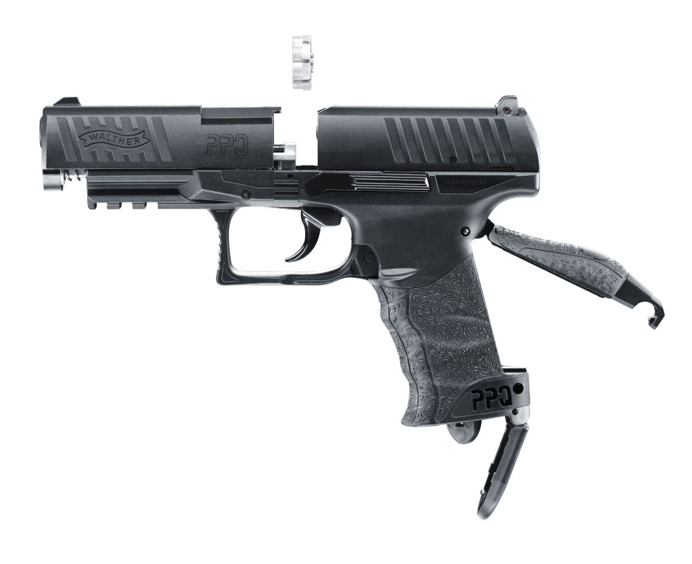Umarex Walther PPQ, CO2, 4,5 mm Diabolo