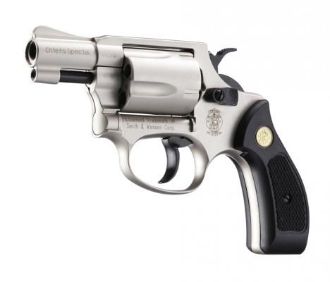 Umarex Smith & Wesson Chiefs Special cal. 9 mm R.K. - Nickel
