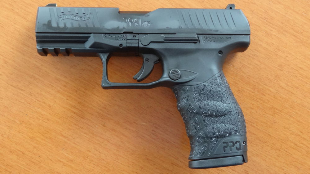Walther SL-Pistole: Walther PPQ M2 in 45 ACP