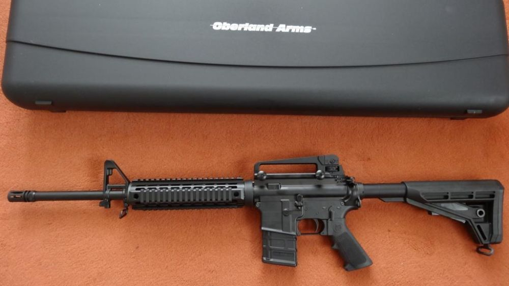Oberland Arms NEU:OA15 Black Label M5-DI (Drop In) Cal. 223 Rem. 3.Gen.