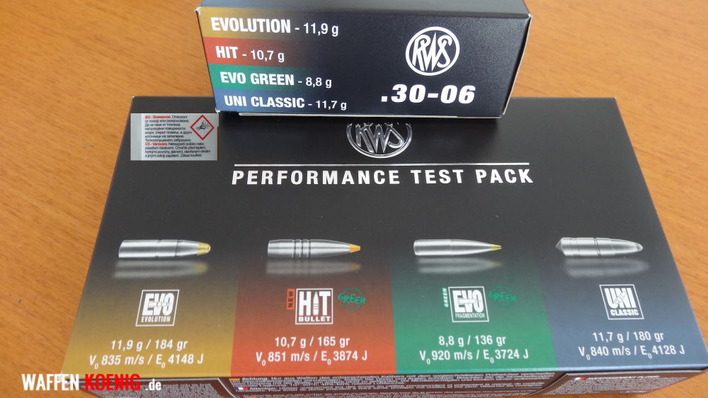 RWS: RWS Performance Test Pack Cal. 30-06: