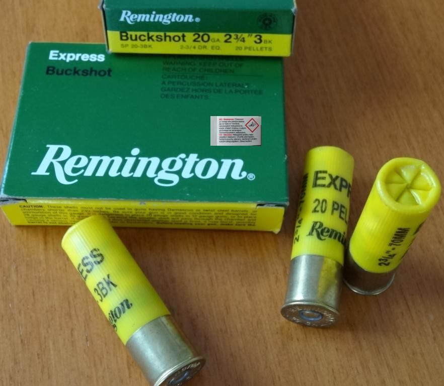 Remington Remington 20 / 70 (Buck) Postenschrot 6,35 mm