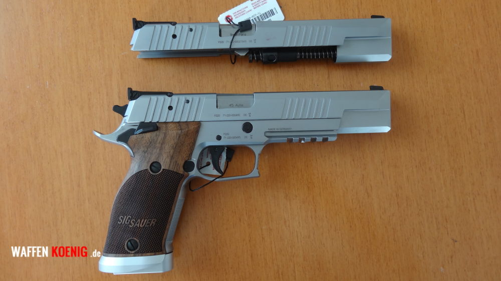 Sig Sauer Sig Sauer P 220 X-Six 2 Classic in Cal. 45 ACP mit Wechselsystem in Cal. 9x 19 mm